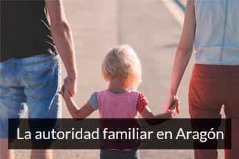 autoridad familiar en Aragon