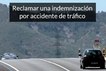 reclamar una indemnización por accidente de trafico