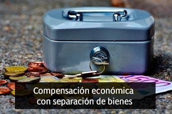 compensacion economica por separacion de bienes en el divorcio