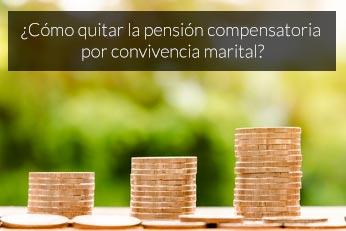 como quitar la pension compensatoria