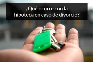 quien paga la hipoteca en un divorcio