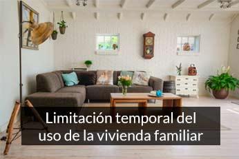 limitacion del uso de la vivienda familiar