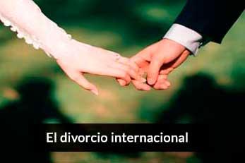 el divorcio internacional
