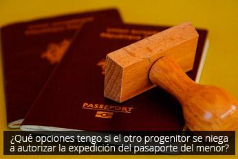autorizar expediente pasaporte menor