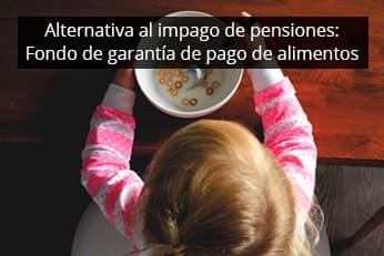 impago de pension de alimentos