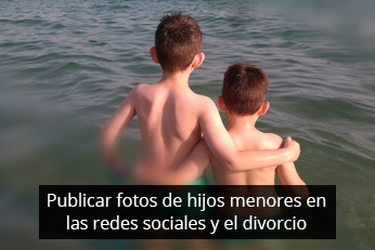 publicar fotos de niños menores en redes sociales